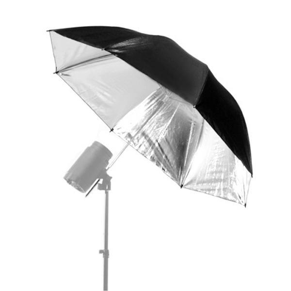 호루스벤누 스튜디오용 우산 MGX-UR110 실버/블랙 (110cm/엄브렐러/조명촬영용) 스튜디오조명 스튜디오반사판 촬영용우산 촬영용엄브렐러 프로필촬영