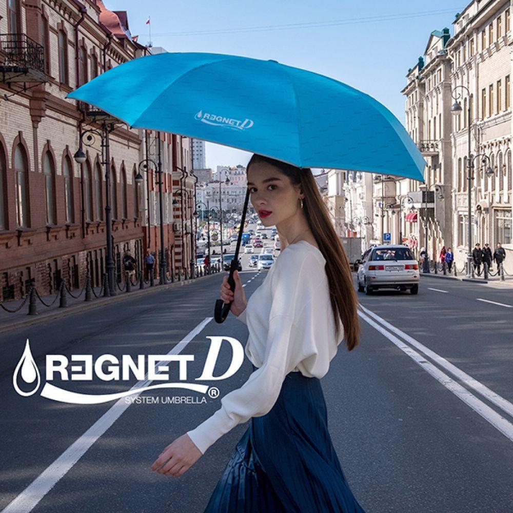 레그넷 D. 친환경 소재 사용한 자동 접힘 거꾸로 우산 레그넷 GOLF우산 우산 Regnet 장우산 거꾸로우산