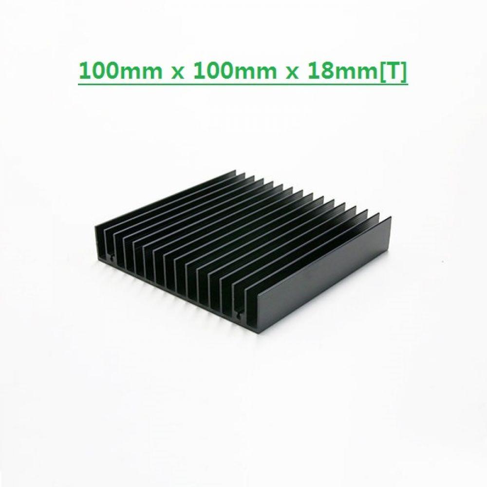 다용도 방열판 알루미늄 쿨러 히트싱크 10010018B 히트싱크 방열판 칼라방열판 다용도 칼라히트싱크 알루미늄방열판 히트싱크 쿨러