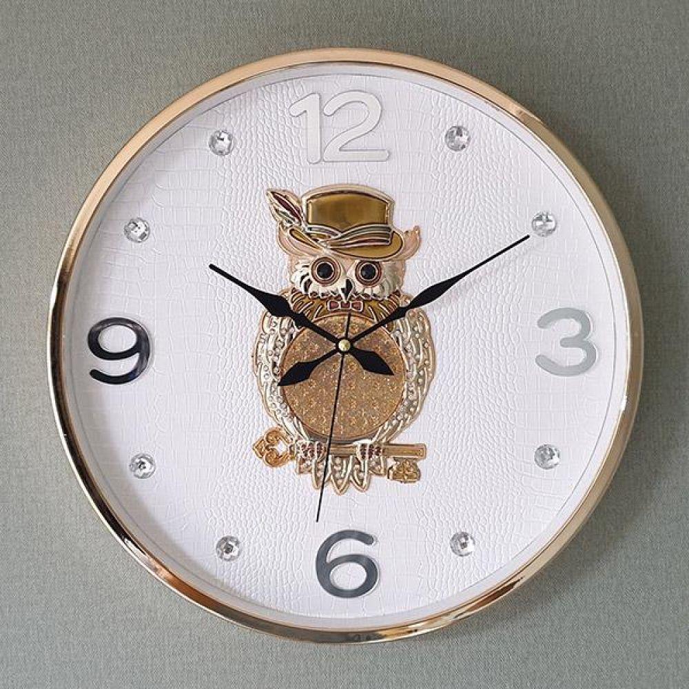 황금열쇠 부엉이 SE 무소음 벽시계 벽시계 벽걸이시계 인테리어벽시계 예쁜벽시계 인테리어소품