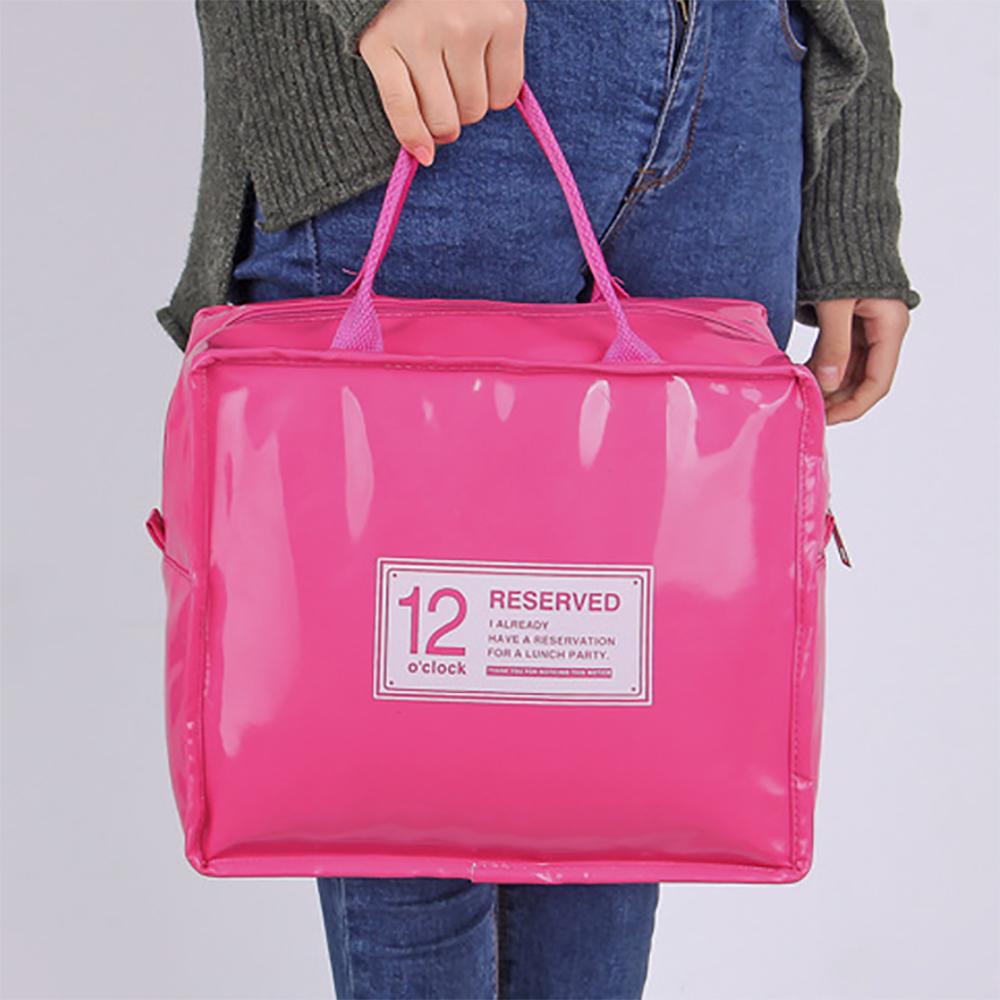 방수 보온보냉 아이스백 핑크 11L 도시락가방 보온백 아이스가방 도시락가방 피크닉가방 캠핑가방