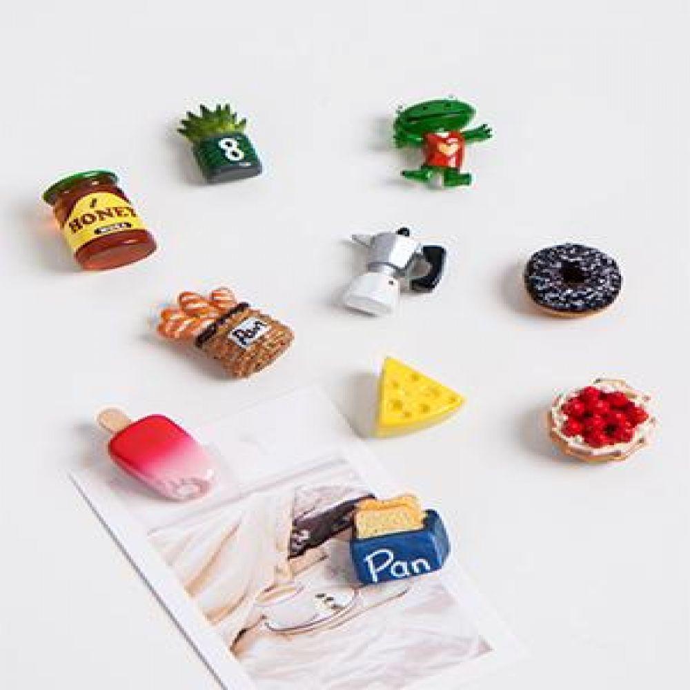 냉장고 자석 10종 마그넷 냉장고마그넷 장식소품 미니어처소품 메모자석