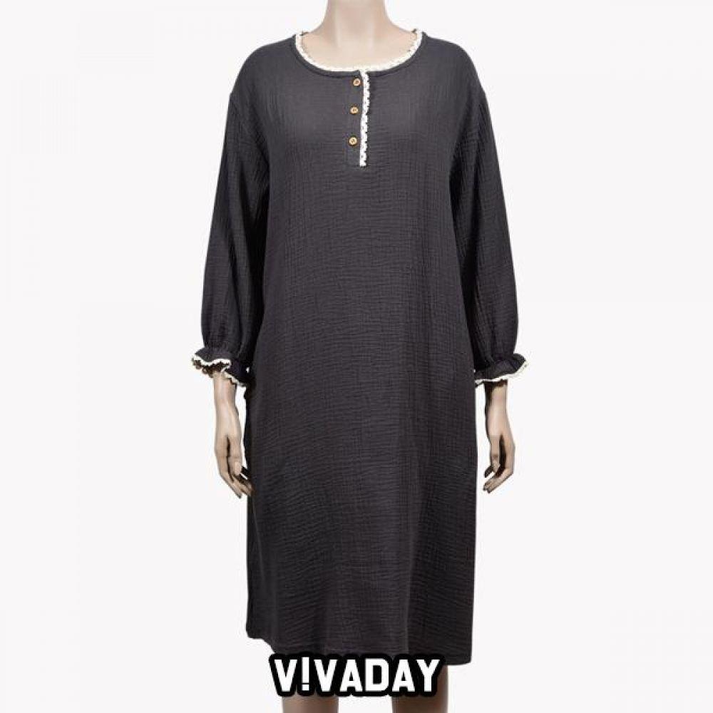 VIVADAY-SC356 보들이 원피스 홈웨어 이지웨어 긴팔 반팔 내의 레깅스 원피스 잠옷 덧신 알라딘바지