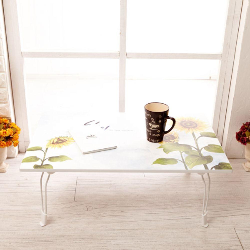 해바라기 멀티테이블 720x480 중 접이식좌탁 테이블 테이블접이식 다용도상 접이식테이블 상 접이식밥상