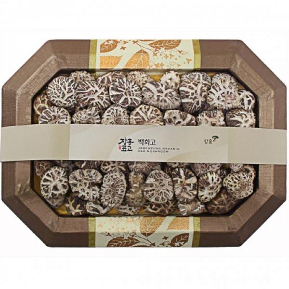 백화고2호 (소)400g 쇼핑백 보자기포장 식품 농산물 채소 표고버섯 선물세트
