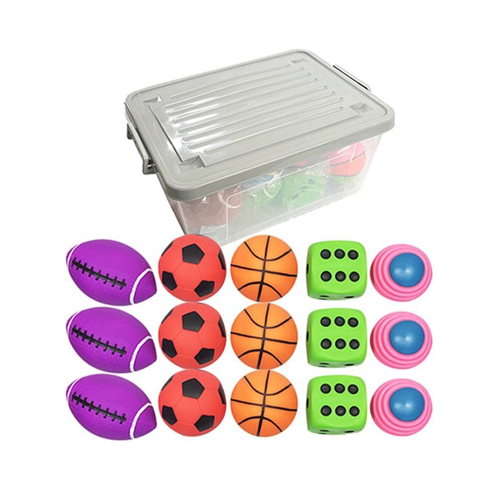 공놀이 유아 장난감 소프트 플레이볼 세트 15p 아이 퍼즐 블록 블럭 장난감 유아블럭