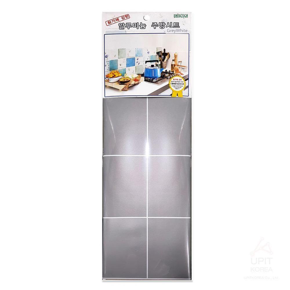 알루 주방시트 (그레이 화이트)_4604 생활용품 잡화 주방용품 가정잡화 주방잡화