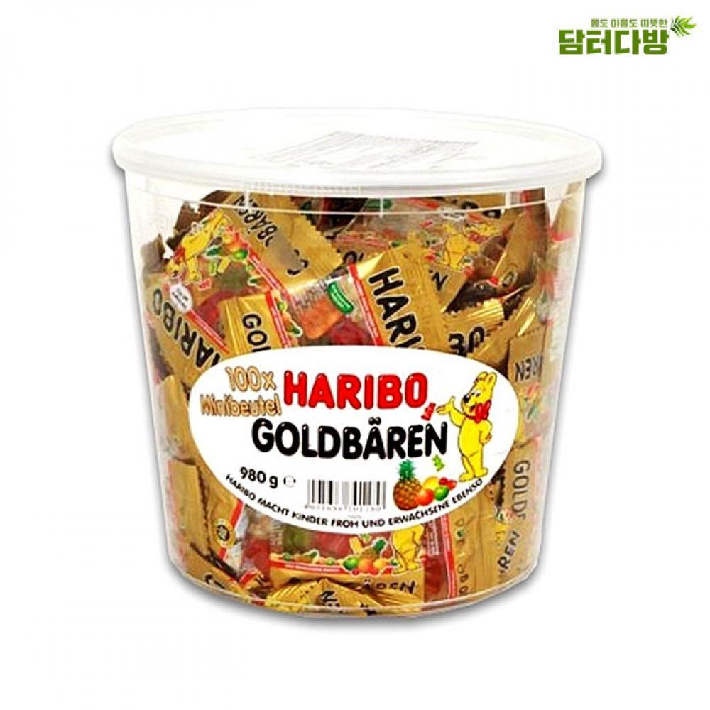 하리보 골드바렌 구미젤리 980g 하리보 구미젤리 아이들간식용 대용량 누구나좋아하는 맛있는젤리 코스트코젤리