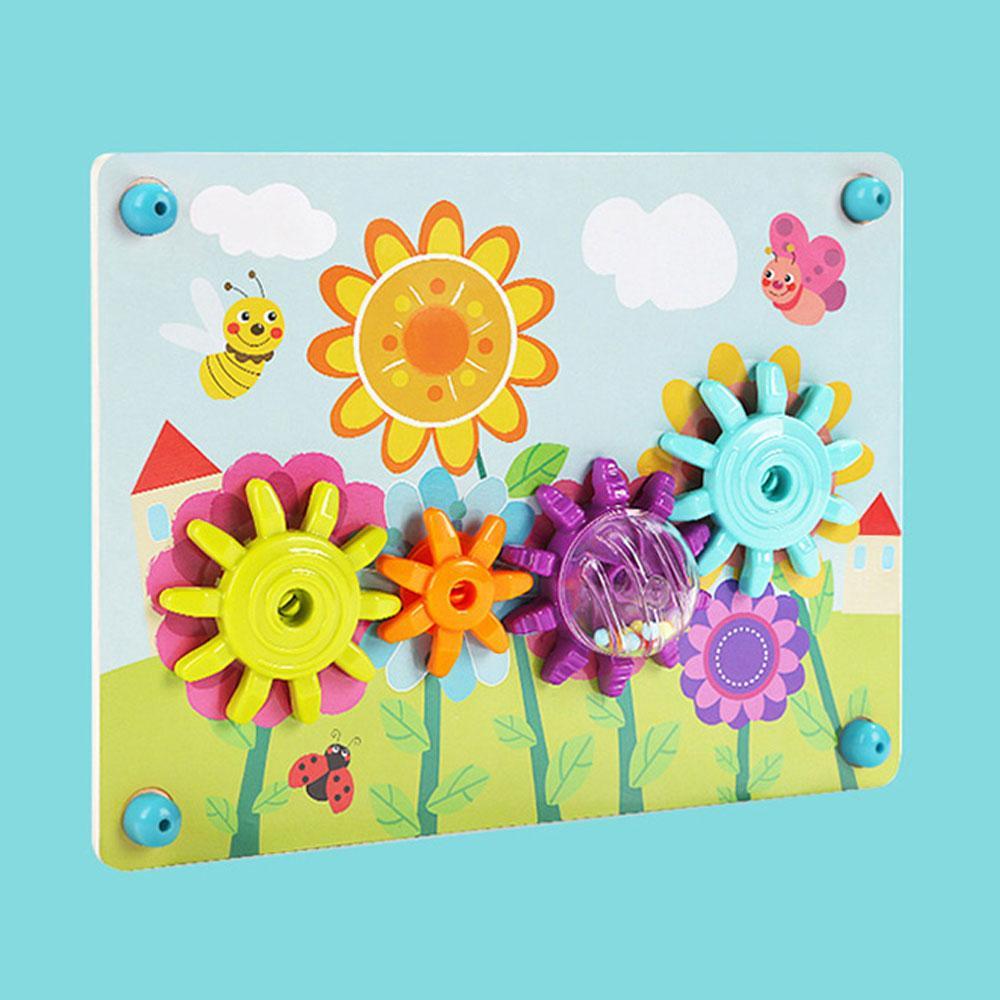 놀이 3살 아이 장난감 창의력 스피닝 기어 3세 유아 퍼즐 블록 블럭 장난감 유아블럭