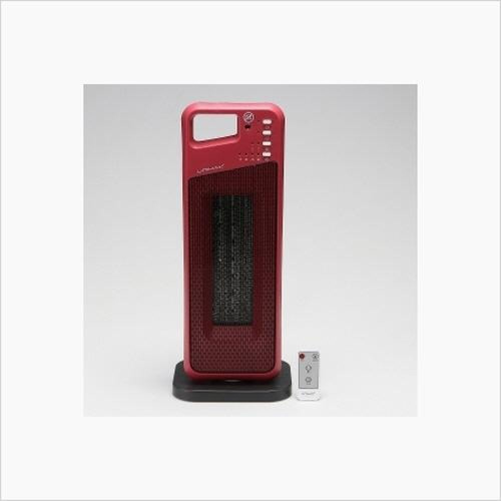 유니맥스 PTC 리모콘 전기 온풍기 레드 전기히터 히터 열풍기 전기스토브 열풍기 방한용품 전기히터 온풍기 전기난로