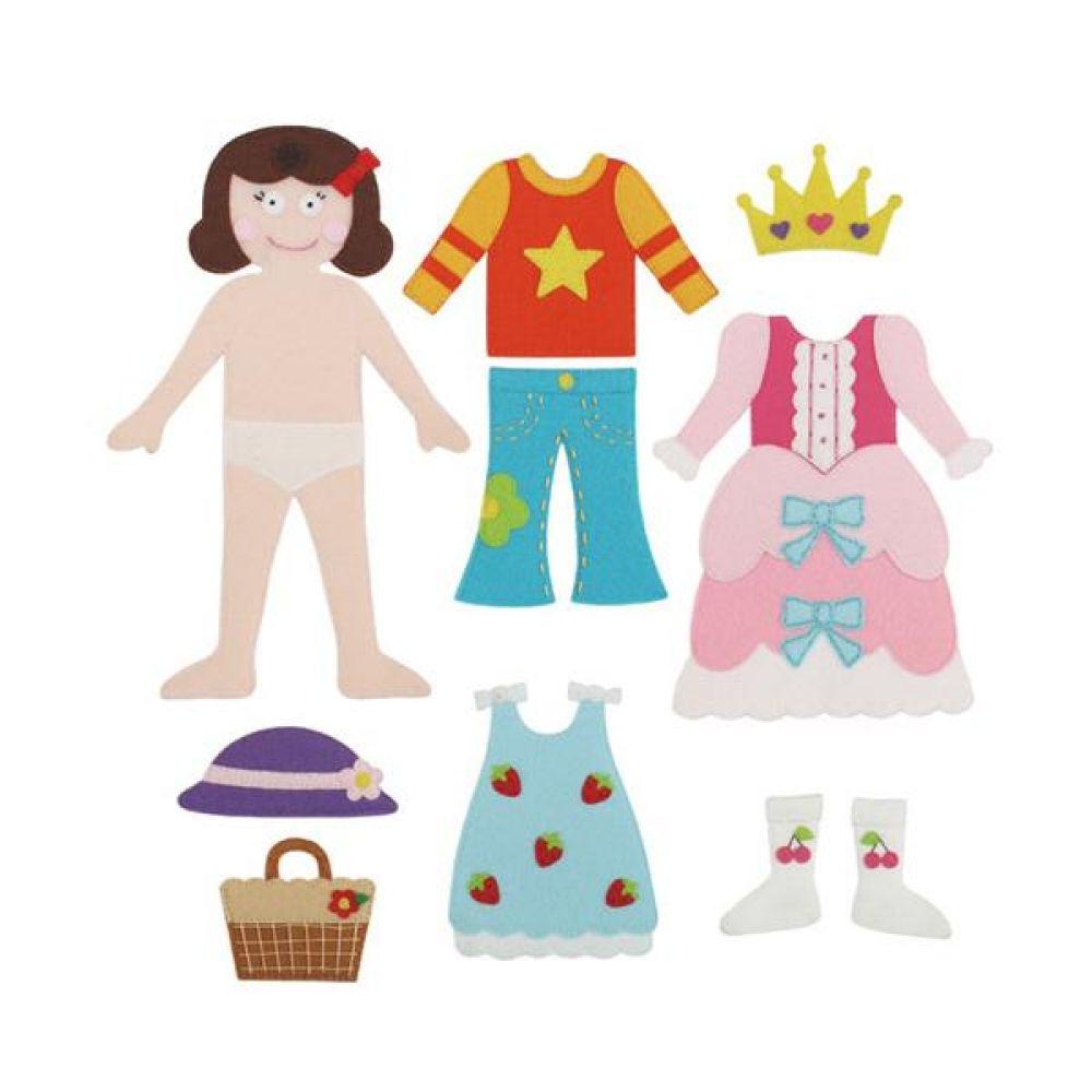 융판 탈부착용 인형 옷입히기 토독 완구 문구 장난감 어린이 캐릭터 학습 교구 교보재 인형 선물