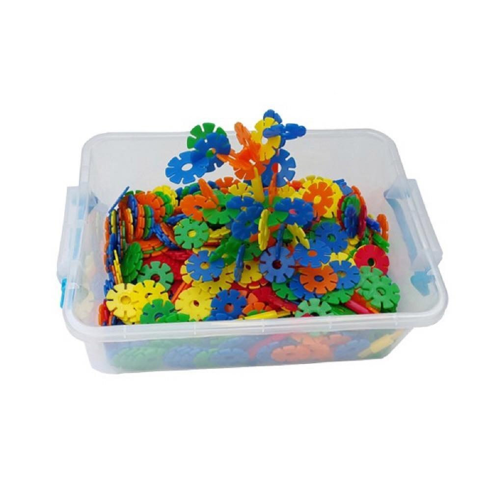 박스 유아 만들기 장난감 블록 미니 꽃잎 블럭 리빙 퍼즐 블록 블럭 장난감 유아블럭