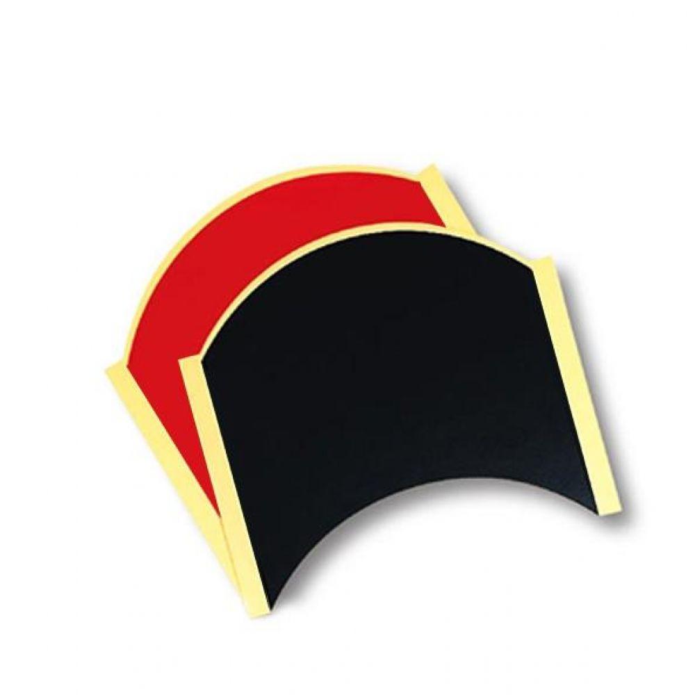 펜홀더 라켓 이면용 버터플라이 반원 라켓시트 2컬러 탁구용품 탁구 탁구라켓용품 라켓테이프 라켓사이드테이프