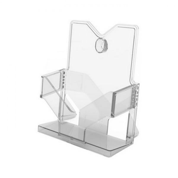 아이홀더 A5 투명 178X101X200mm BHC5001 생활잡화 사무용품 표지판 잡화 생활용품 소형간판 A5 꽂이 홀더 투명