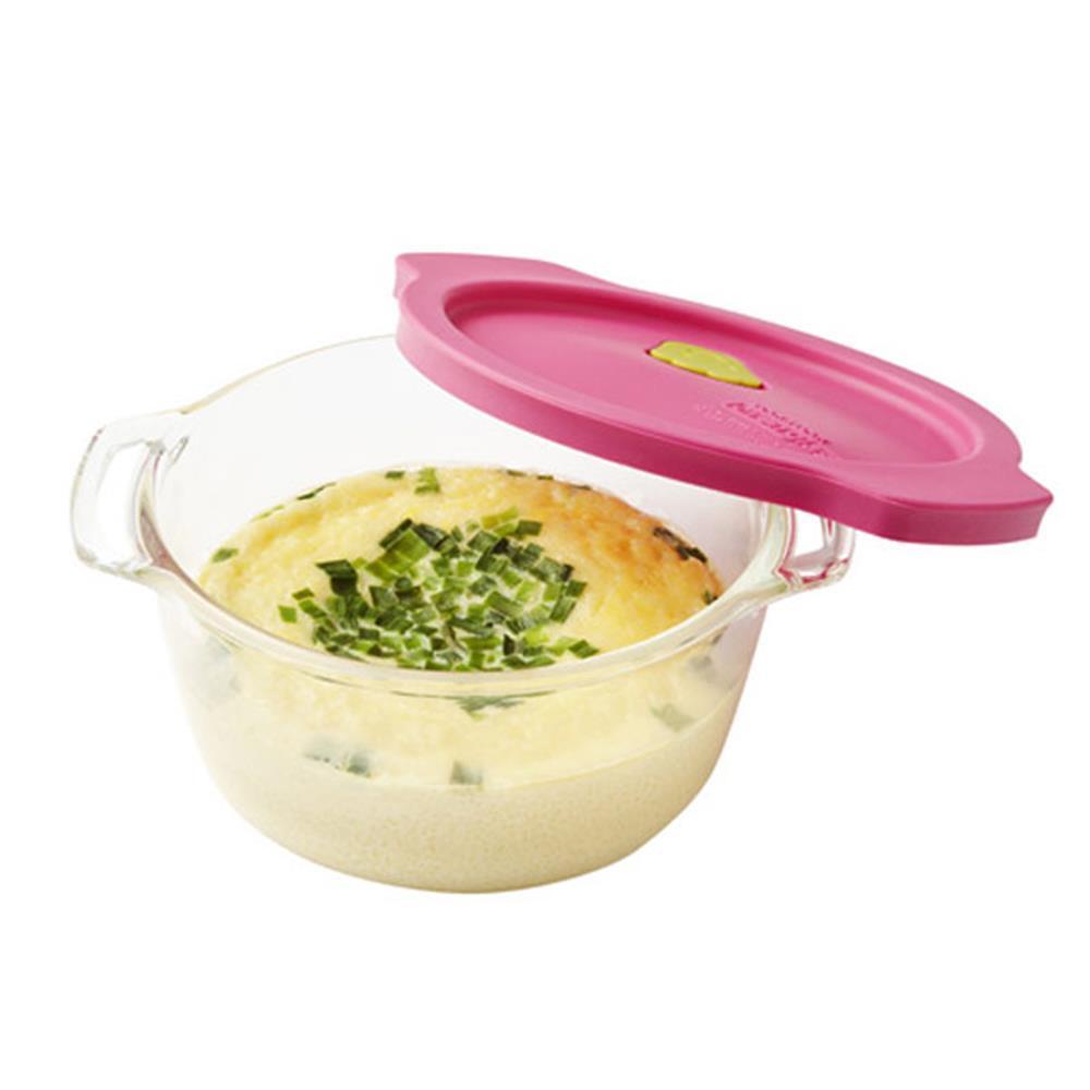 460ml 계란찜기 퍼플 오븐글라스 에그마스터 만능찜기 에그메이커 계란찜기 달걀조리 에그마스터 만능찜기