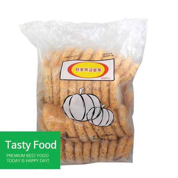 (냉동)사리원단호박고로케2.8kgX6개 간식 사리원 고로케 식자재 식품