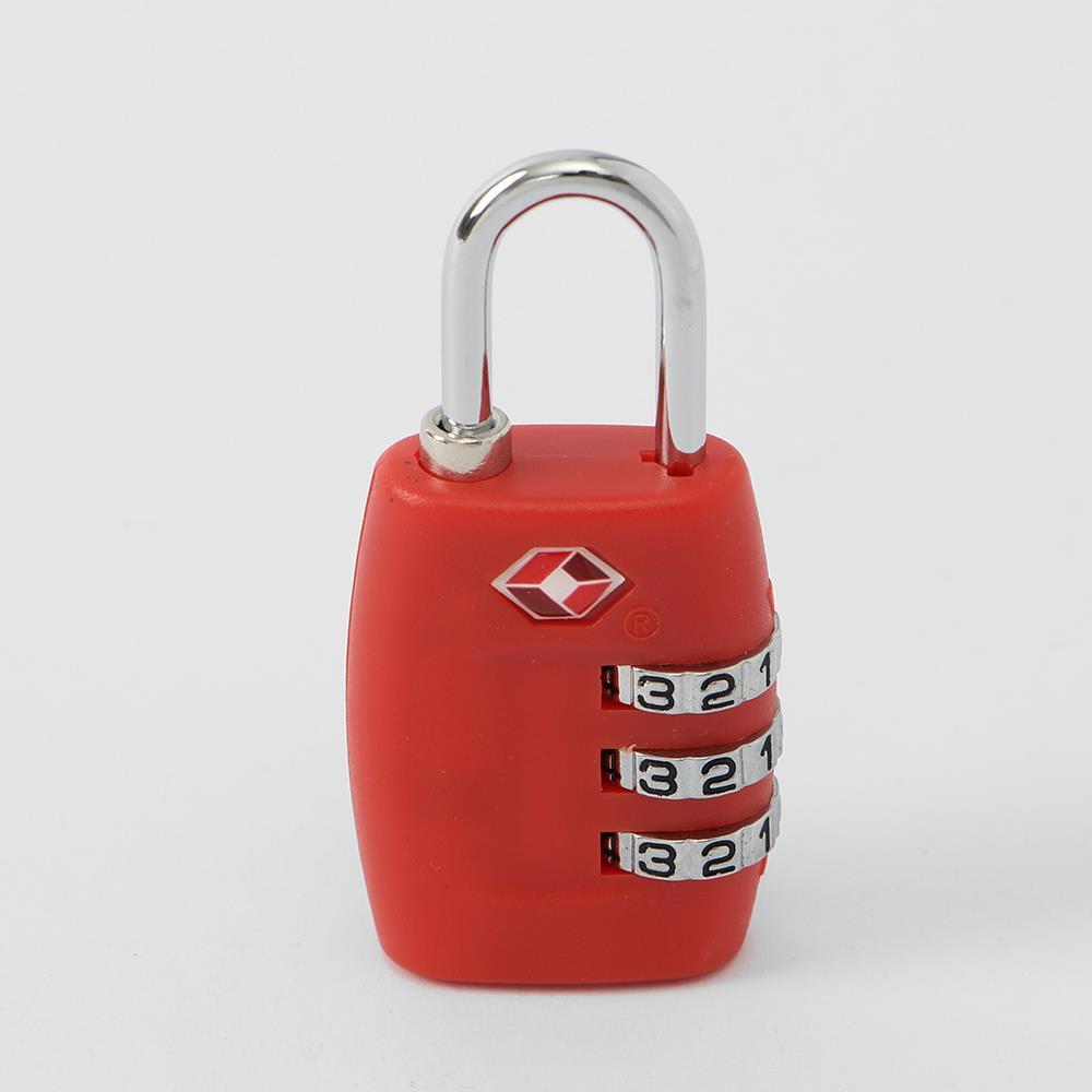 레드 3자리 TSA자물쇠 사물함자물쇠 숫자자물쇠 TSA자물쇠 숫자자물쇠 자전거자물쇠 잠금장치자물쇠 사물함자물쇠