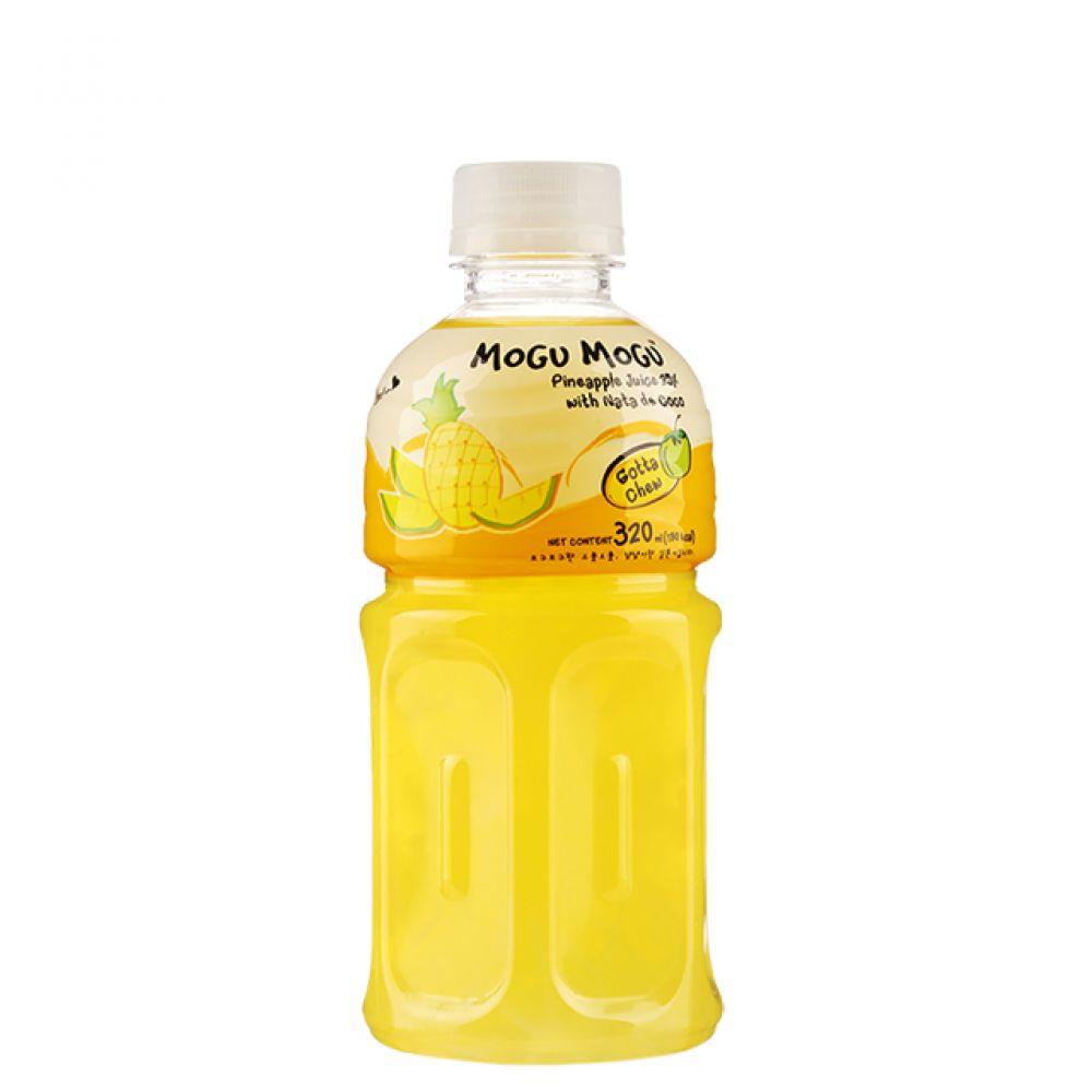 모구모구 혼합음료 파인애플 320ml (1박스 24개입) 카페음료 수입음료 태국음료 과일음료 코코넛음료