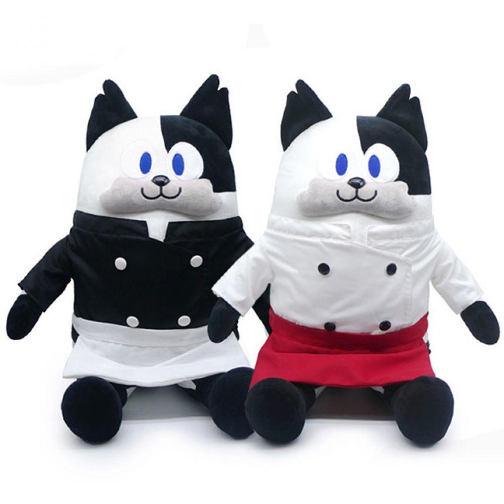 냉장고를부탁해 쿠마오 인형-55cm 인형선물 캐릭터 캐릭터인형 봉제인형 귀여운인형 동물인형 고양이인형 냉장고를부탁해 쿠마오 쉐프
