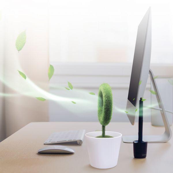 퓨어팟 공기 청정기 미니 USB 미니공기청정기 USB공기청정기 사무실공기청정기 탁상용공기청정기 공기청정기