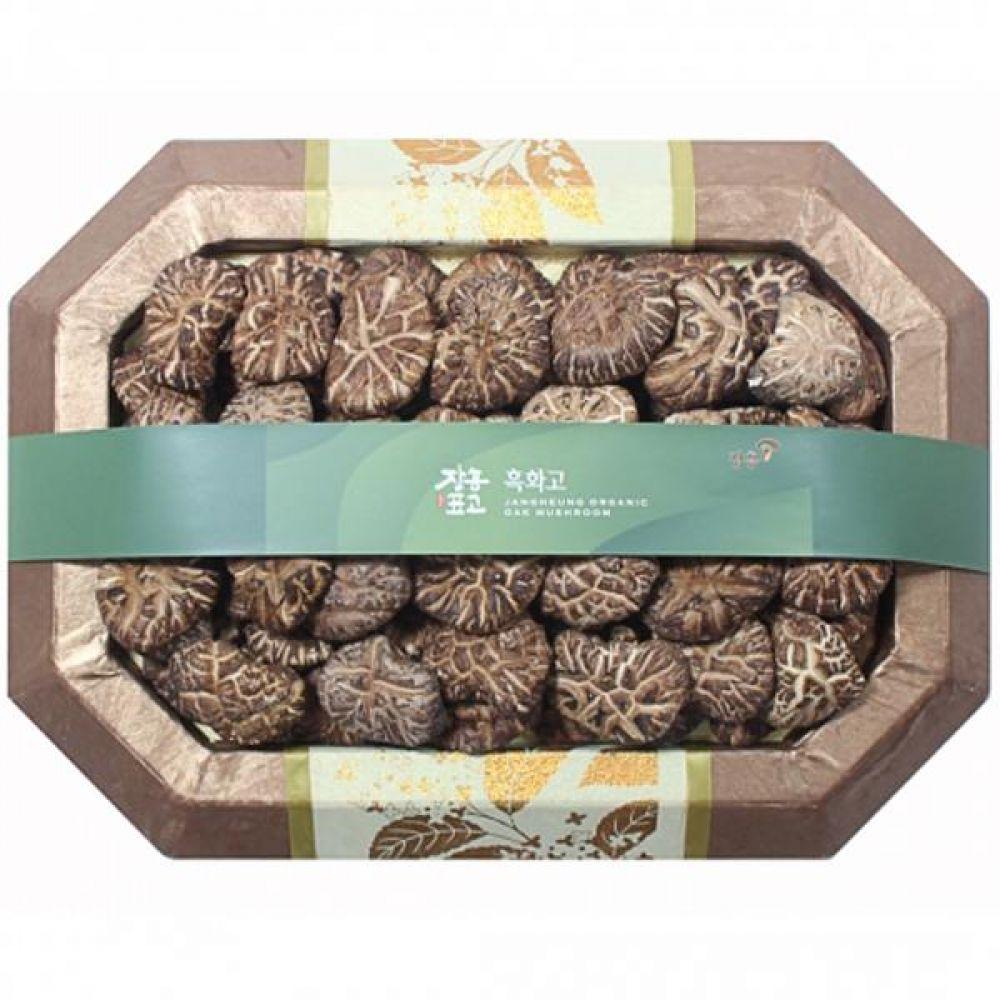 흑화고혼합1호 (흑화고250g 동고250g) 쇼핑백 보자기포장 식품 농산물 채소 표고버섯 선물세트