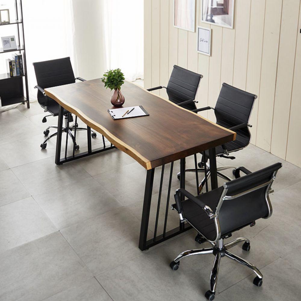가온 4인테이블 원목테이블 카페테이블 사무실테이블 1600테이블 테이블세트 우드슬랩테이블 원목테이블 테이블 엔틱테이블 철제테이블 6인용테이블 6인테이블 인테리어테이블 카페테이블 다용도테이블 티테이블 회의용테이블 회의테이블 사무실테이블