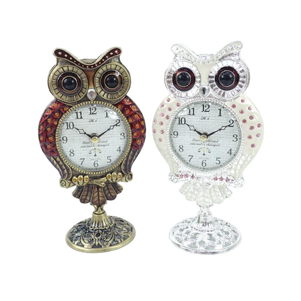 씨티존 부엉이 스탠드 탁상시계 중시계 탁상시계 인테리어시계 포인트탁상시계 아날로그시계 시계 탁상시계 인테리어시계 포인트탁상시계 아날로그시계
