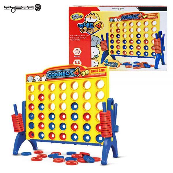 모닝글로리 커넥트 4 빙고게임 테이블 게임 보드게임 장난감 완구
