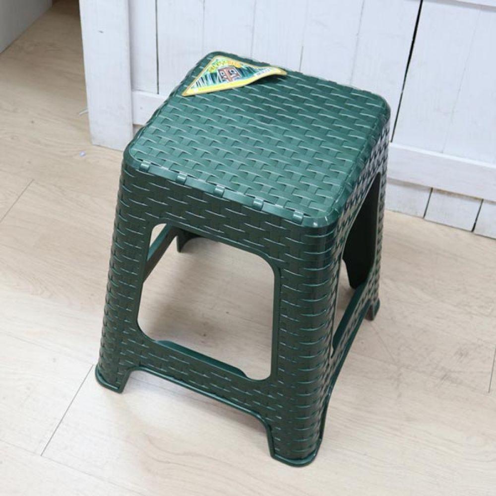 대나무의자 대 은색 보조의자 생활용품 다용도의자 간이의자 의자 생활용품 다용도의자 보조의자