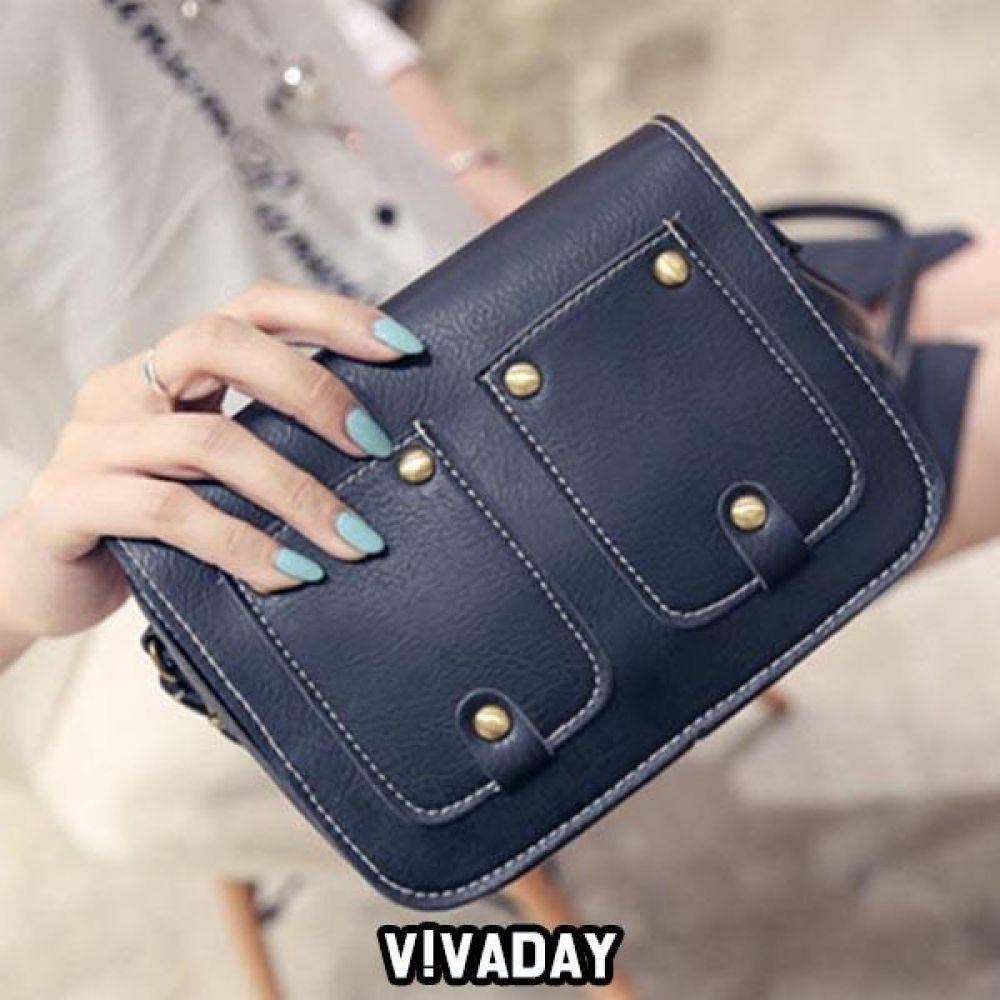 LEA-A223 투포켓크로스백 숄더백 토트백 핸드백 가방 여성가방 크로스백 백팩 파우치 여자가방 에코백