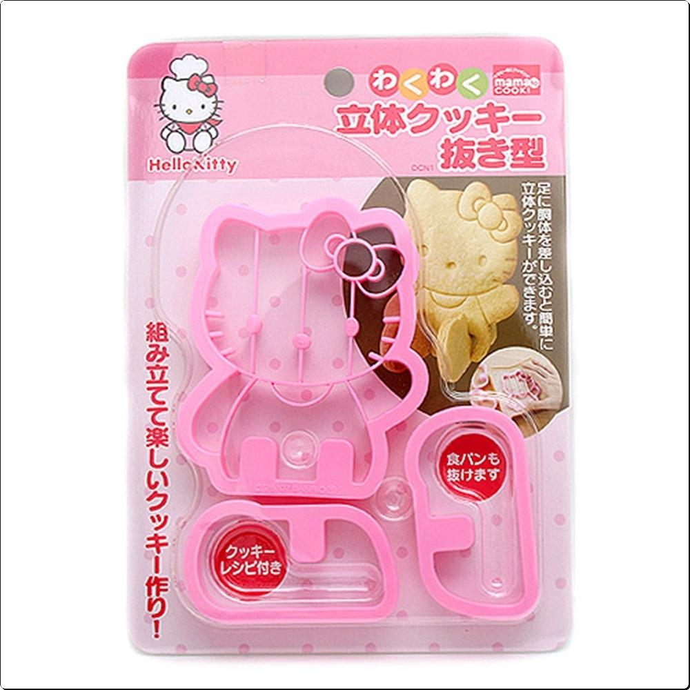 헬로키티 입체 쿠키틀 (식빵모형) (일) (101700) 캐릭터 캐릭터상품 생활잡화 잡화 유아용품