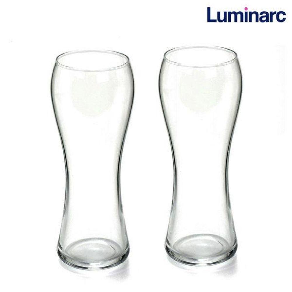 루미낙 밀맥주잔 2p (N7896) 유리컵 맥주잔 물컵 도자기컵 맥주컵