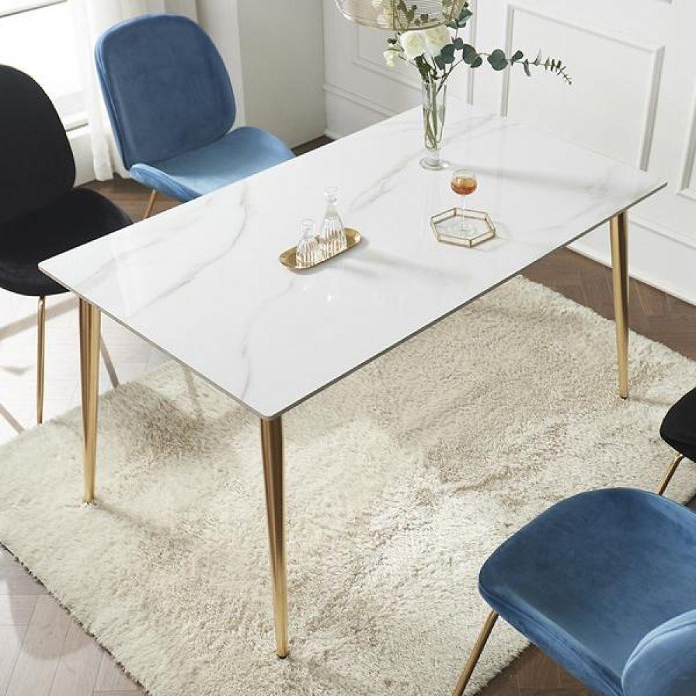 심플라인 세라믹 골드 식탁 1400 테이블 다용도상 거실테이블 티이블 미니테이블