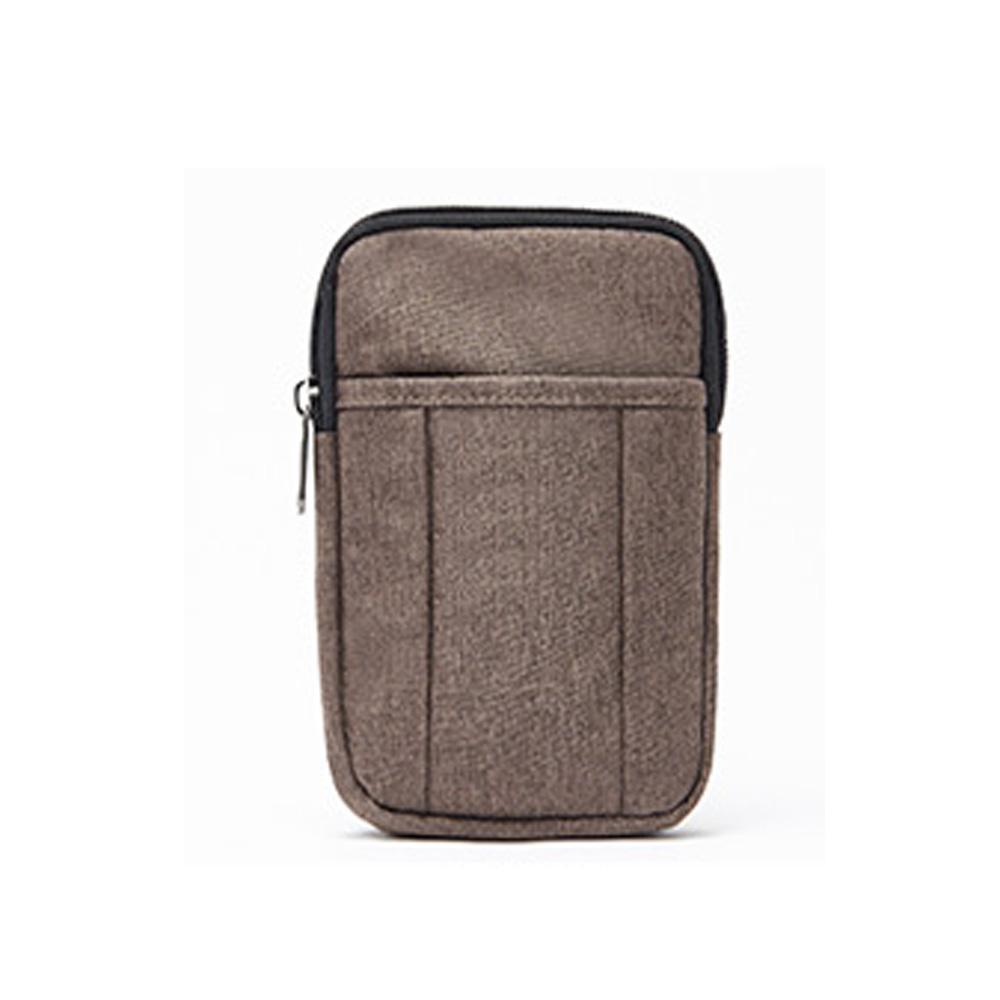 브라운 미니 크로스 등산 보조 가방 핸드폰 수납 크로스백 크로스 남성크로스백 남자크로스백 옆으로매는가방
