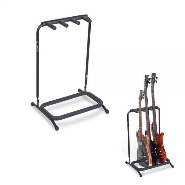 멀티 기타스탠드 3단 Electric/ Bass용 거치대 20860 기타거치대 기타받침대 기타걸이 통기타받침대 통기타거치대 일렉스탠드 통기타스탠드 기타용거치대 베이스스탠드 일렉기타거치대