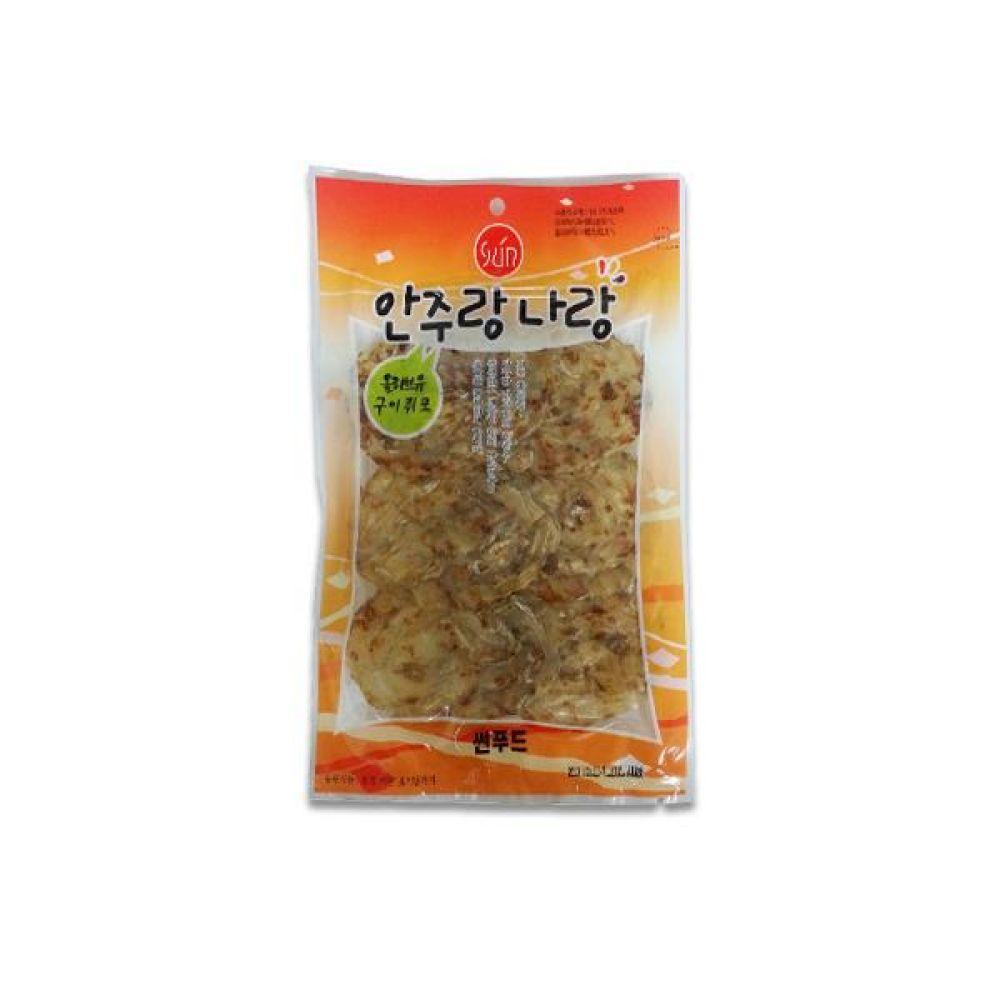 썬푸드) 올리브유 쥐포구이(대) 70g x 10개 술안주 간식 마른 안주 자반 안주도매