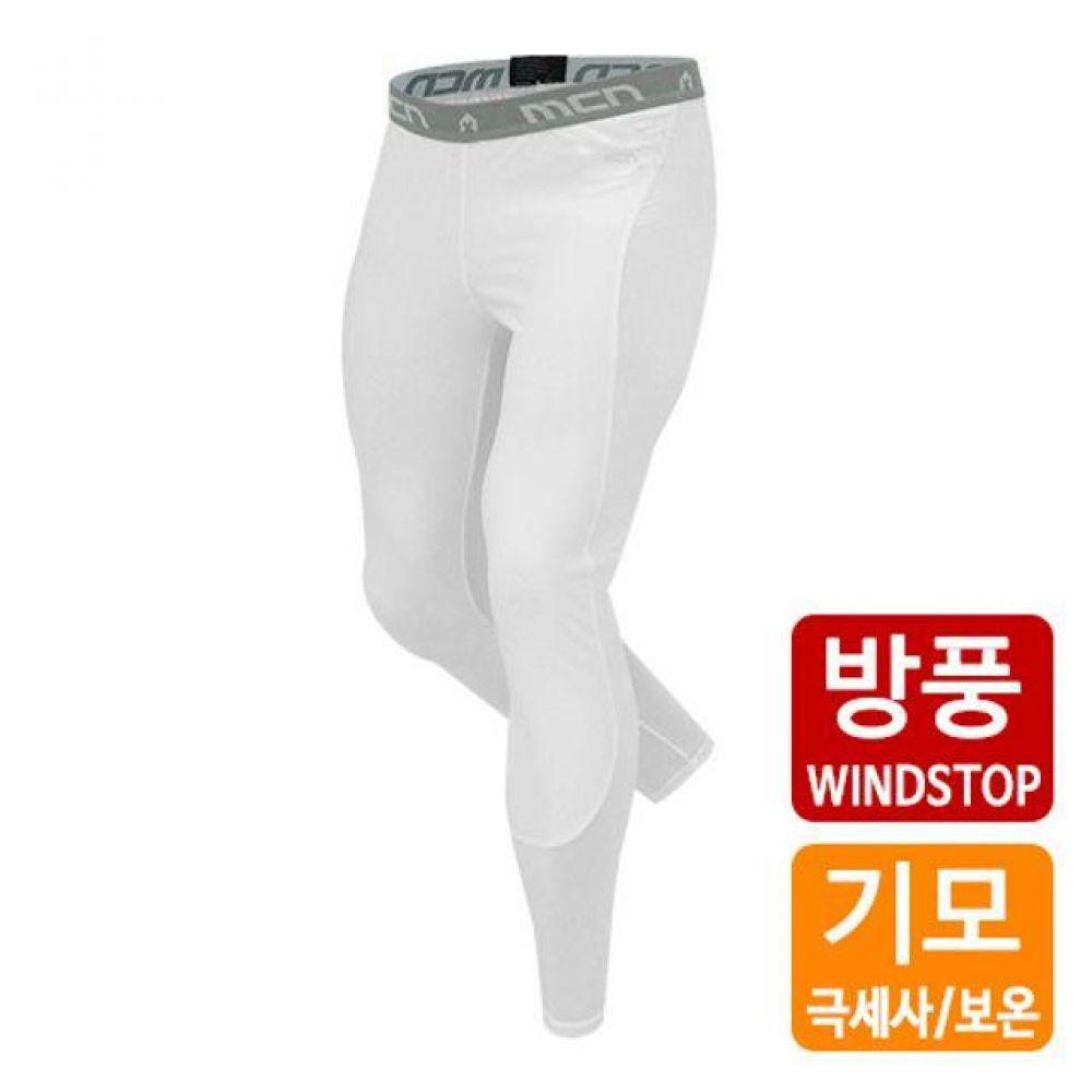 스포츠 이너웨어 하의 레깅스 바지 기모 보온(화이트) 기능성속옷 스포츠이너웨어 기능성민소매 남성언더레이어 여성이너웨어 기능성티셔츠 골프이너웨어