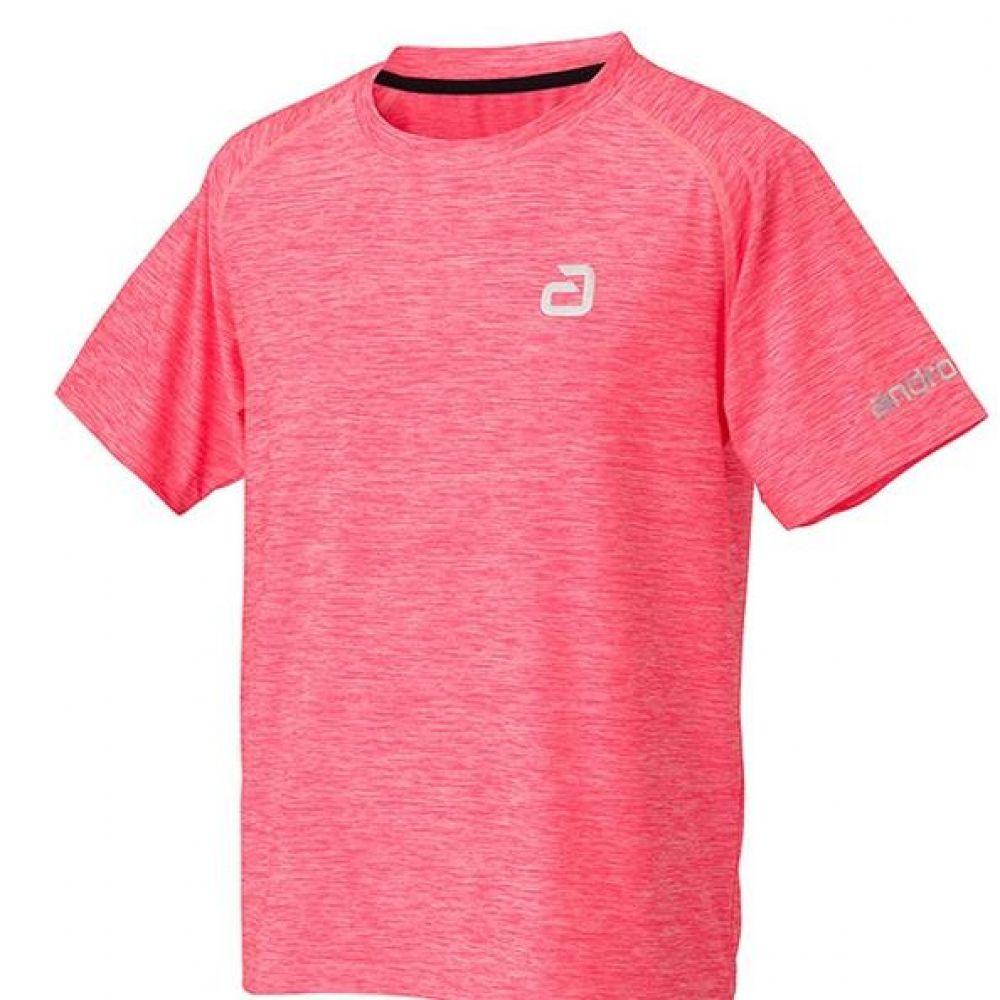 안드로 알파 탁구유니폼 반팔티 핑크 남여공용 탁구유니폼 탁구용품 탁구유니폼상의 탁구유니폼티셔츠 탁구티셔츠