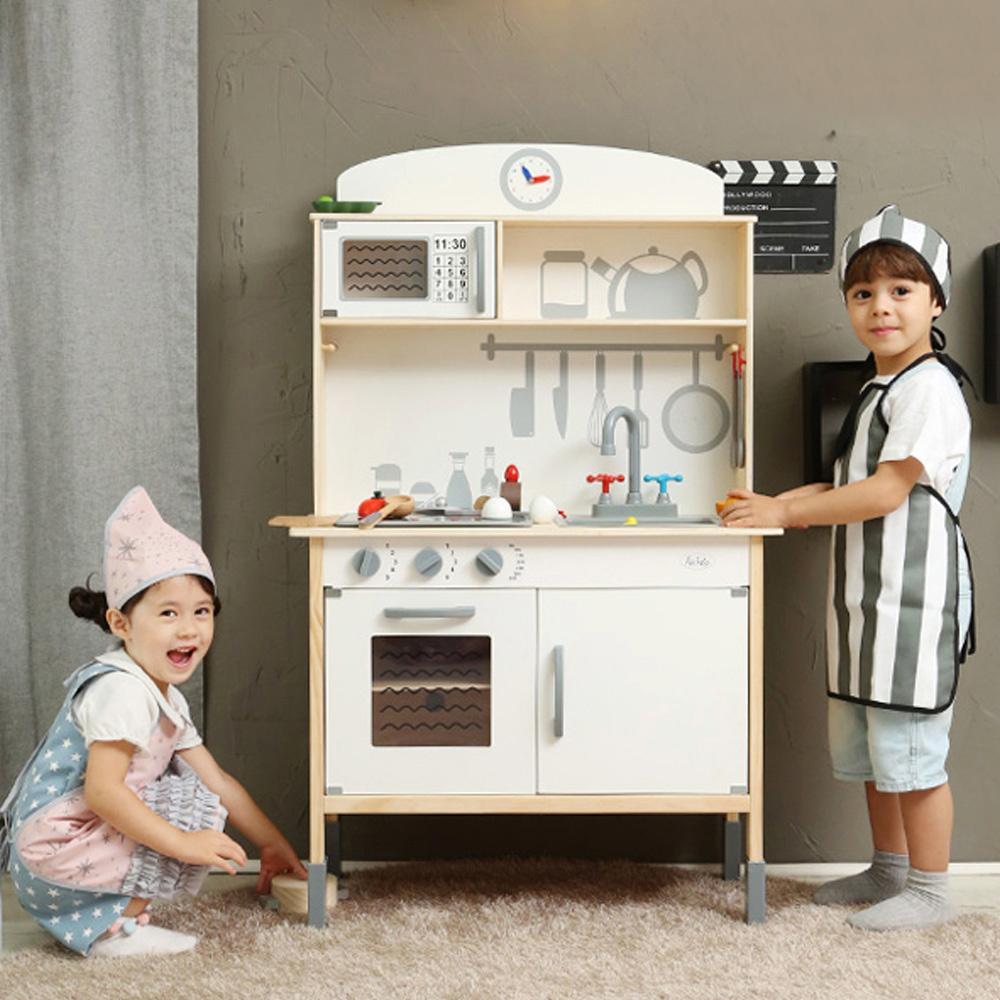 선물 유아 소꿉놀이 원목 주방 놀이 프리미엄 조카 초등학교 장난감 5살장난감 3살장난감 4살장난감
