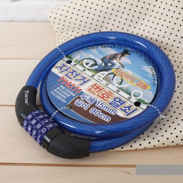 자전거번호열쇠TY4271(15x90) 생활용품 잡화 주방용품 생필품 주방잡화