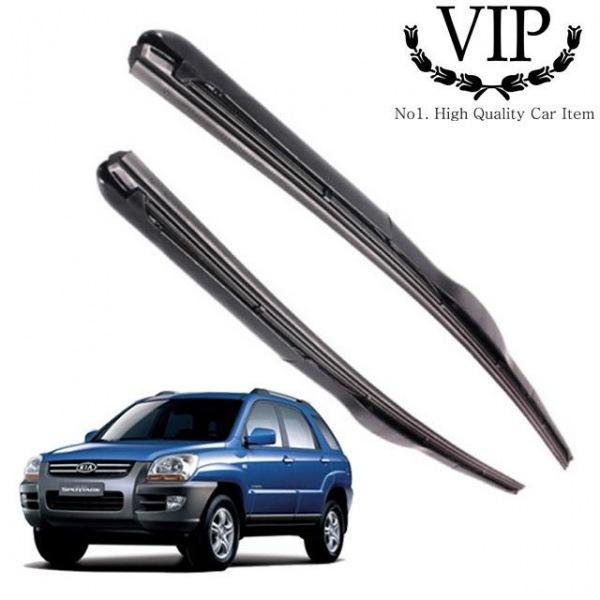 뉴스포티지 VIP 그라파이트 와이퍼 600mm400mm 세트 뉴스포티지와이퍼 자동차용품 차량용품 와이퍼 자동차와이퍼 차량용와이퍼