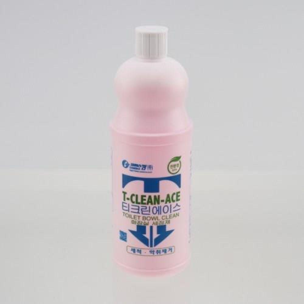 티크린 에이스 1000ml 화장실 살균세정제 청소용품 빨래용품 세탁용품 락스 살균소독제 악취제거제 표백제 화장실세정제