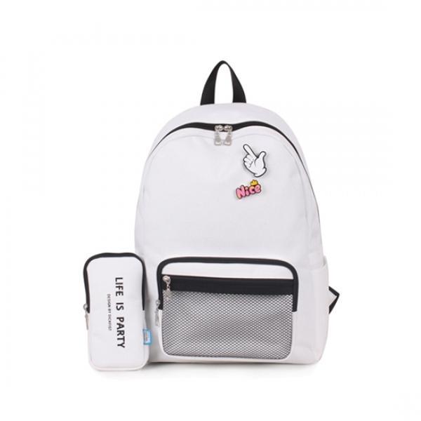 딕피스트 필통세트 백팩 학생가방 DF638(4color) 딕피스트 백팩 가방 책가방 학생가방 노트북가방