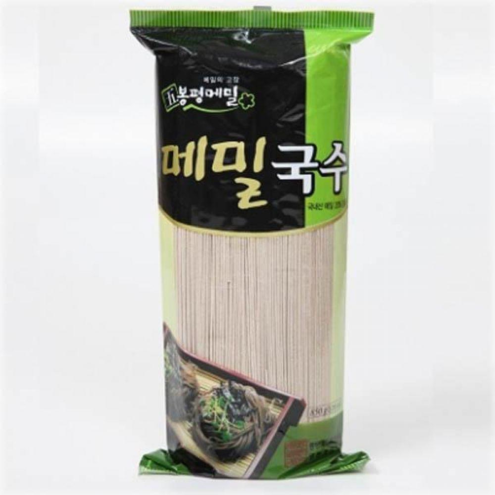 (식자재 박스판매)봉평 메밀 국수(롤) 850g x 15개 메일 국수 가루 묵 건강