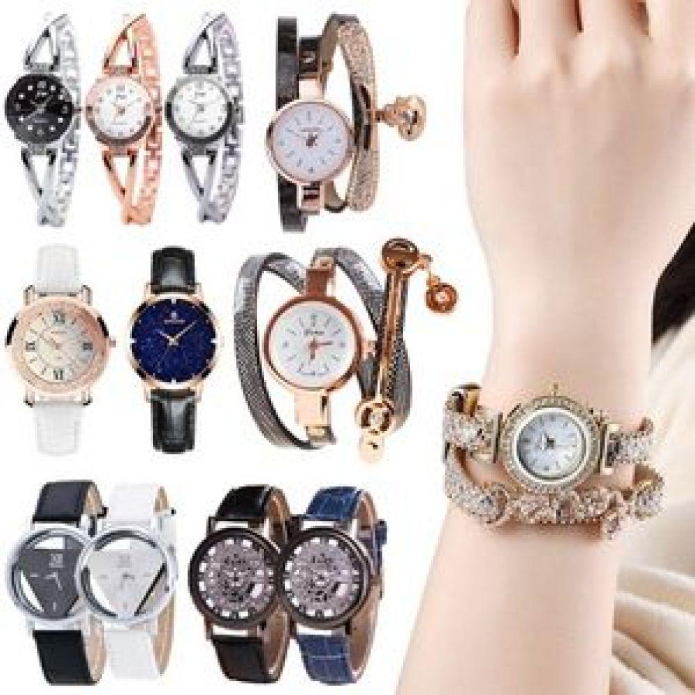 GnJ 세줄손목시계 메탈시계 여성손목시계 팔찌시계 시계 손목시계 남자시계 남자손목시계 브라운시계 여자시계 남성시계 여성시계 여자손목시계 패션시계