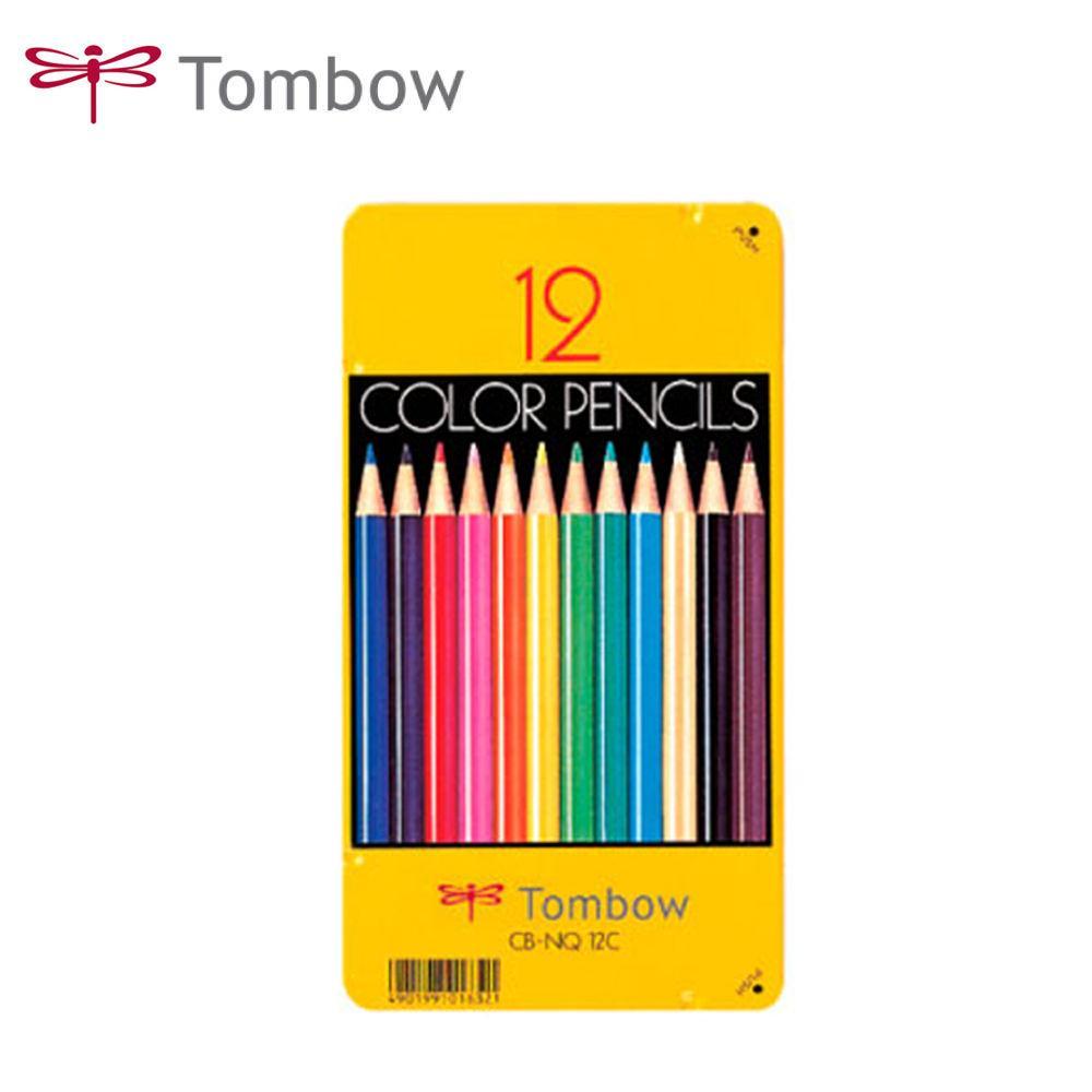 톰보우 색연필 12색 세트 색연필 연필색연필 미술용품 학용품 문구