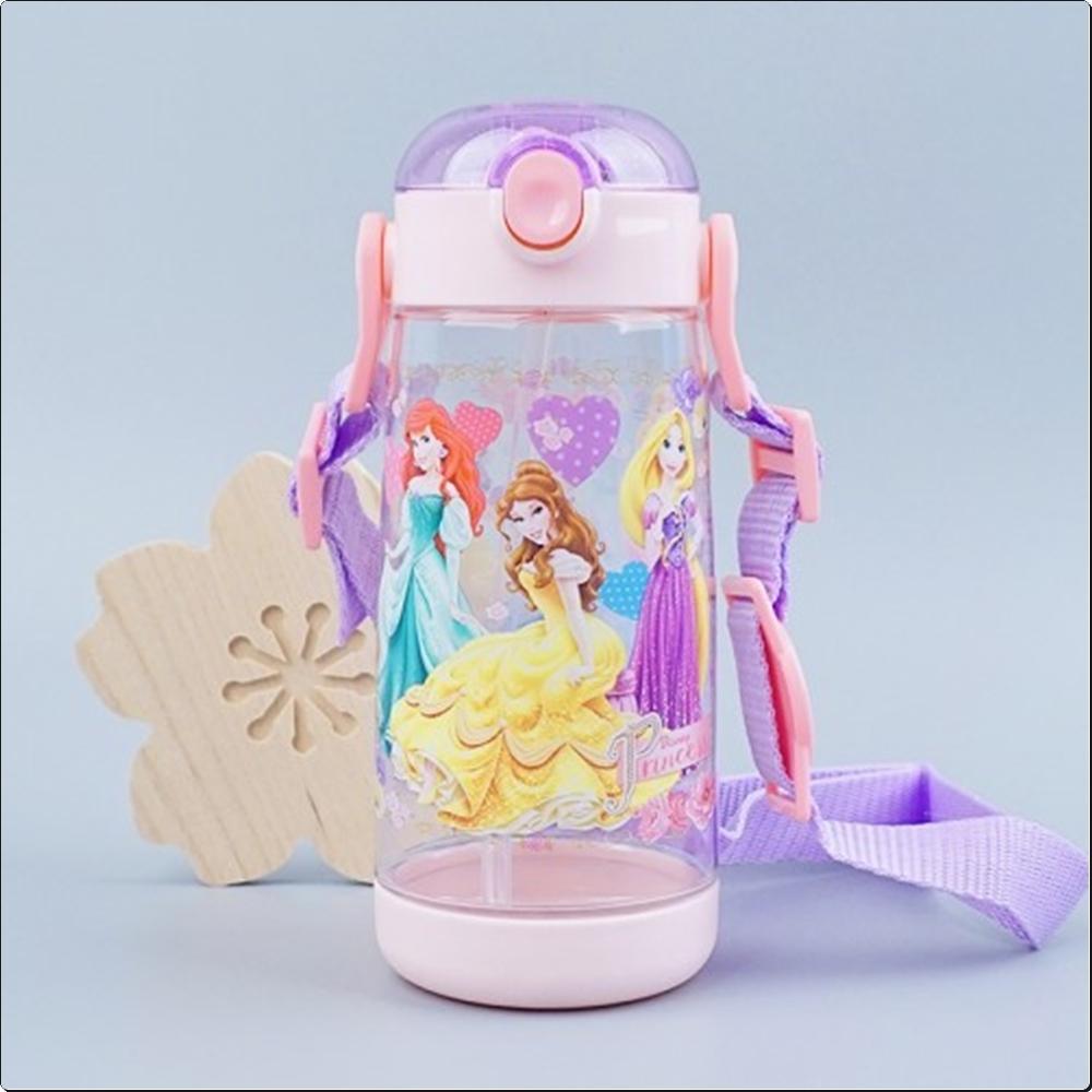 프린세스 원터치 스트로보틀 480ml (어깨끈빨대물통) 캐릭터 캐릭터상품 생활잡화 잡화 유아용품