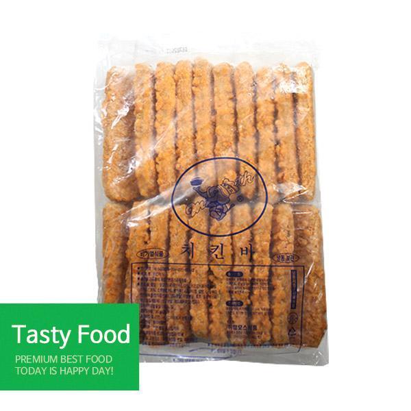(냉동)맘모스 치킨바1.8kgX10개 맘모스 치킨바 간식 식자재 식품