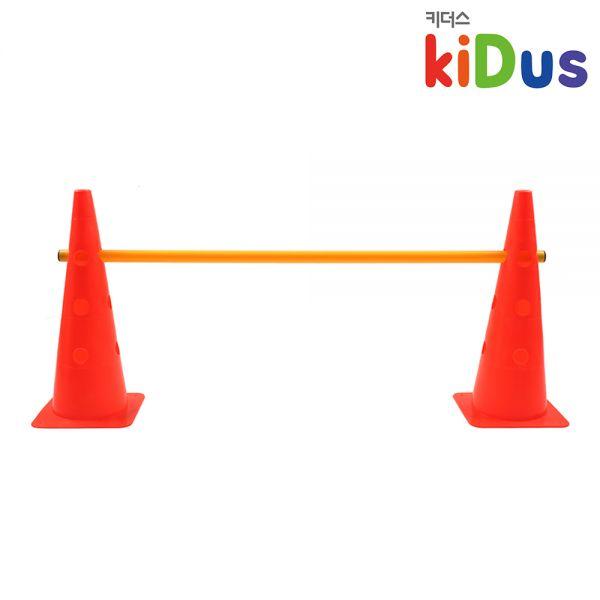 [키더스] 허들콘 시스템 48cm 유아체육 축구 접시콘 칼라콘 안전용품 트레이닝