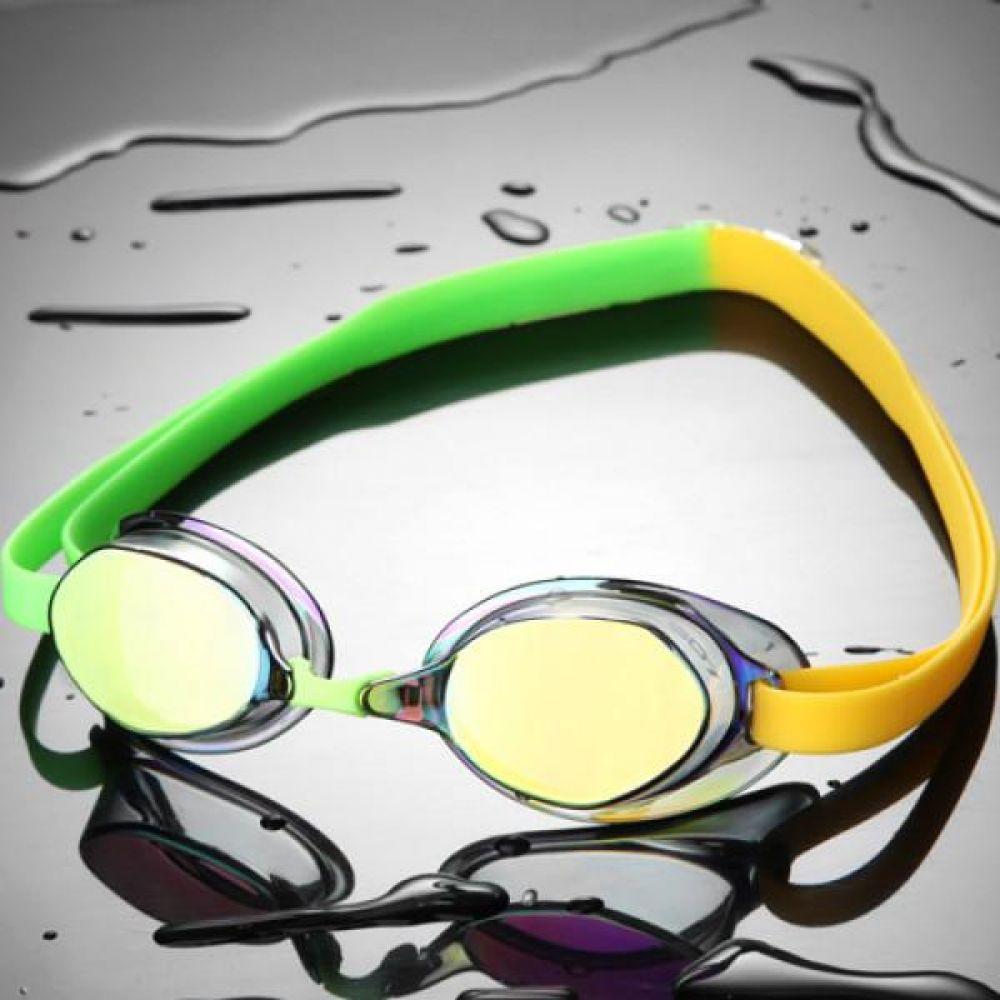 SGL-8200-GDGNYL SD7 선수용 노패킹 컬러믹스 수경 수영용품 물안경 남자수경 여자수경 성인물안경